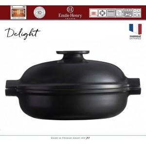 DELIGHT Кастрюля-сотейник керамическая для духовки и любых плит, индукционное дно, 2.5 л, D 26.5 см, Emile Henry, арт. 91055, фото 7