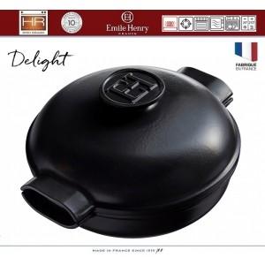 DELIGHT Кастрюля-сотейник керамическая для духовки и любых плит, индукционное дно, 2.5 л, D 26.5 см, Emile Henry, арт. 91055, фото 8