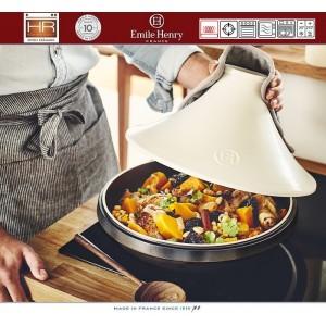 DELIGHT Тажин керамический для духовки и любых плит, индукционное дно, 4 л, D 33 см, Emile Henry, арт. 91057, фото 6