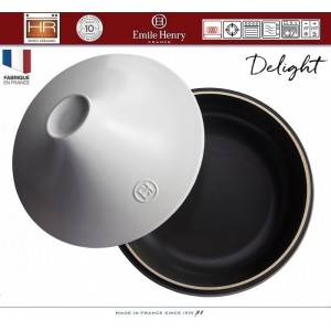 DELIGHT Тажин керамический для духовки и любых плит, индукционное дно, 4 л, D 33 см, Emile Henry, арт. 91057, фото 3