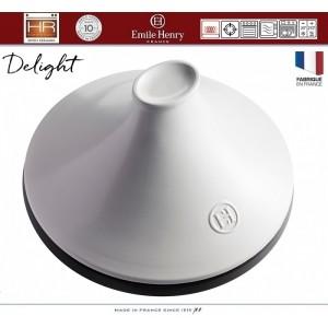 DELIGHT Тажин керамический для духовки и любых плит, индукционное дно, 4 л, D 33 см, Emile Henry, арт. 91057, фото 5