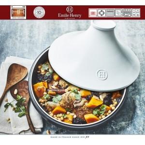DELIGHT Тажин керамический для духовки и любых плит, индукционное дно, 4 л, D 33 см, Emile Henry, арт. 91057, фото 2