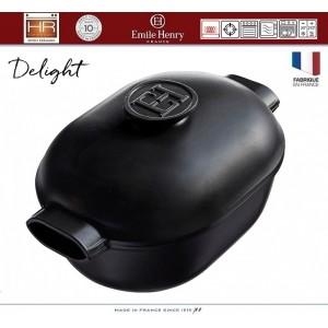DELIGHT Кастрюля-жаровня керамическая для духовки и любых плит, индукционное дно, 4.5 л, L 36 см, Emile Henry, арт. 91056, фото 7