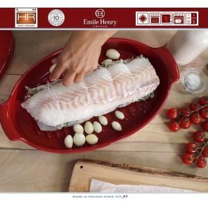 Les Spécialistes Форма-папильот для рыбы, керамика, цвет красный, Emile Henry, арт. 79497, фото 6