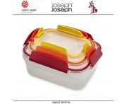Контейнеры NEST Lock 3 для пищевых продуктов, 3 шт, Joseph Joseph, Великобритания