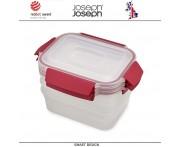 Контейнеры NEST Lock для пищевых продуктов, 3 шт по 1.1 литра, Joseph Joseph, Великобритания
