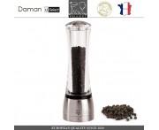 Мельница DAMAN U SELECT для перца, H 21 см, акрил прозрачный, PEUGEOT, Франция