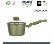 Антиприганый ковшик Dr.Green INDUCTION, D 16 см, 1.5 л, Risoli, Италия