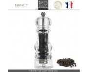 Мельница NANCY для перца, H 18 см, акрил прозрачный, PEUGEOT, Франция