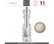 Мельница NANCY для соли, H 22 см, акрил прозрачный, PEUGEOT, Франция