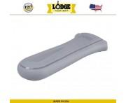 Накладка-прихватка NEW на ручку силиконовая, L 14.5 х 6.4 см, серый, Lodge, США