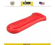 Накладка-прихватка NEW на ручку силиконовая, L 14.5 х 6.4 см, красный, Lodge, США