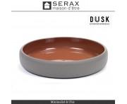 Блюдо-салатник DUSK Rouge, D 20.5 см, H 3.5 см, керамика ручной работы, SERAX, Бельгия