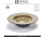 Глубокая тарелка TERRES DE RÊVES серый-синий, D 27.5 см, керамика ручной работы, SERAX, Бельгия