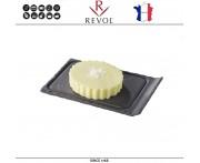 Блюдо BASALT для подачи десерта, 11.5 x 8 см, REVOL, Франция