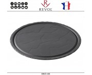 Блюдо BASALT для подачи круглое, D 30 см, фарфор, REVOL, Франция