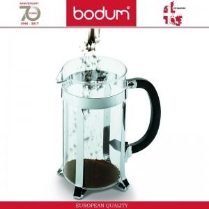 Френч-пресс CAFFETTIERA для кофе, чая, 350 мл, темно-зеленый, BODUM, арт. 87606, фото 2