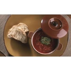 Блюдо прямоугольное , L 37 см, W 16,5 см, фарфор, серия Terramesa коричневый, Steelite, Великобритания, арт. 113155, фото 8