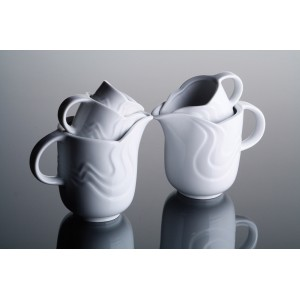 Чайник  с крышкой  «Melodie», 750 мл, D 10,2 см, H 14,7 см, W 18 см, фарфор столовый, G.Benedikt, Чехия, арт. 7922, фото 6