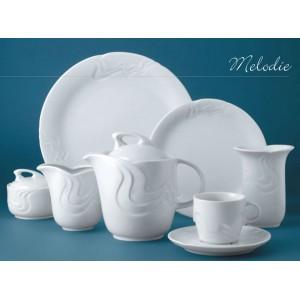 Чайник  с крышкой  «Melodie», 750 мл, D 10,2 см, H 14,7 см, W 18 см, фарфор столовый, G.Benedikt, Чехия, арт. 7922, фото 5