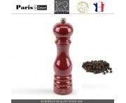 Мельница Paris U Select Laque Ruby для перца, H 22 см, бордовый, PEUGEOT, Франция