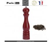 Мельница Paris U Select Laque Ruby для перца, H 30 см, бордовый, PEUGEOT, Франция