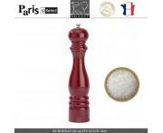 Мельница Paris U Select Laque Ruby для соли, H 30 см, бордовый, PEUGEOT, Франция