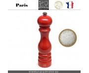 Мельница PARIS CLASSIC Laque Rouge для соли, H 22 см, красный, PEUGEOT, Франция