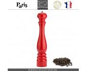 Мельница PARIS CLASSIC Laque Rouge для перца, H 40 см, красный, PEUGEOT, Франция