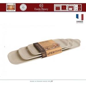 Aperitivo набор блюд для запекания и подачи, 3 шт, керамика, цвет розовый, Emile Henry, арт. 90825, фото 4