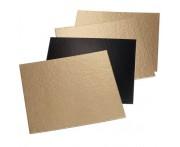 Подложка для кондитерских изделий, 50 шт, L 16 см, W 16 см, картон, MATFER, Франция
