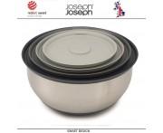 Набор кухонных мисок-салатников Nest Collection 100, 4 шт, сталь нержавеющая, Joseph Joseph, Великобритания