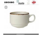 Кофейная (чайная) чашка Brown Dapple, 200 мл, Steelite, Великобритания