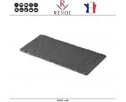 Блюдо BASALT для подачи прямоугольное, 25 x 12 см, REVOL, Франция