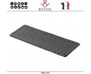 Блюдо BASALT для подачи прямоугольное, 30 x 11 см, фарфор, REVOL, Франция