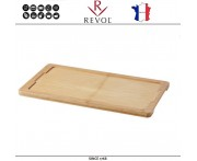 Доска для блюда BASALT арт 8834, 34 x 19 см, бамбук, REVOL, Франция