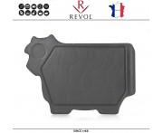 Блюдо BASALT для стейка, сыра, закусок, 38 x 27 см, фарфор, REVOL, Франция