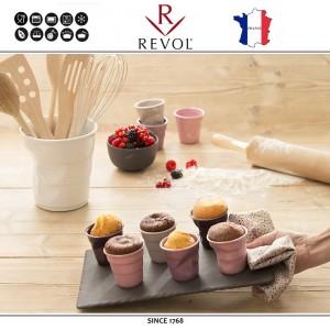 """Froisses """"Мятый керамический стаканчик"""" для кофе эспрессо, 80 мл, лиловый, REVOL, Франция, арт. 8925, фото 7"""