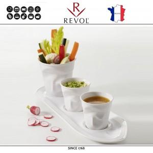 """Froisses """"Мятый керамический стаканчик"""" для кофе эспрессо, 80 мл, черный, REVOL, Франция, арт. 77890, фото 5"""
