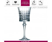 Бокал Lady Diamond для вина, 190 мл, Cristal D'arques, Франция