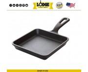 BREAKFAST Сковорода для завтрака, 13 x 13 см, литой чугун, Lodge, США