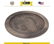 Подставка для сковороды арт. 5211, D 25.5 см, дерево, Lodge, США