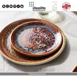 Блюдце Amber Vesuvius для арт 112725, 16.5 см, фарфор, Steelite, Великобритания, арт. 112733, фото 4