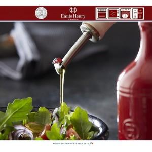 Les Ustensiles Бутылка для масла и уксуса, 450 мл, керамика, цвет красный, Emile Henry, арт. 74773, фото 2