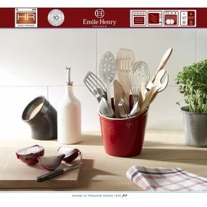 Les Ustensiles Стакан для кухонных инструментов и аксессуаров, цвет гранат, Emile Henry, арт. 74731, фото 3