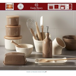 Les Ustensiles Стакан для кухонных инструментов и аксессуаров, цвет гранат, Emile Henry, арт. 74731, фото 4