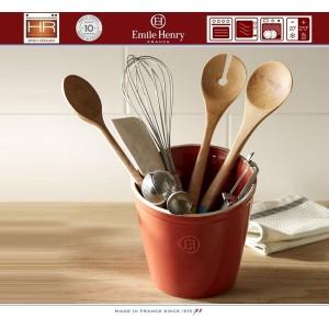 Les Ustensiles Стакан для кухонных инструментов и аксессуаров, цвет гранат, Emile Henry, арт. 74731, фото 2