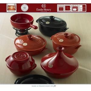 COCOTTE Кастрюля керамическая для духовки и плиты, 4 л, D 22 см, Emile Henry, арт. 79535, фото 4