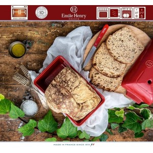 Les Spécialistes Керамическая форма для выпечки хлеба, 24 x 15 см, цвет лен, Emile Henry, арт. 88160, фото 3
