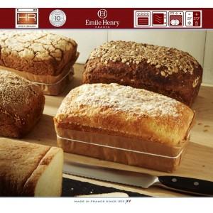 Les Spécialistes Керамическая форма для выпечки хлеба, 24 x 15 см, цвет лен, Emile Henry, арт. 88160, фото 4